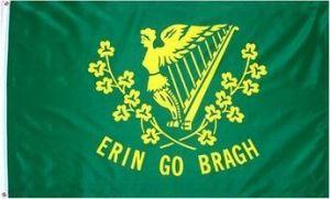 Lightweight Poly Erin Go Bragh Irish Flag