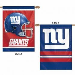 Full Color NY Two-Sided Giants Banner