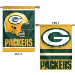 Green Bay Packers 2-Sided Vertical Flag