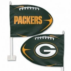 Green Bay Packers - Car Flag