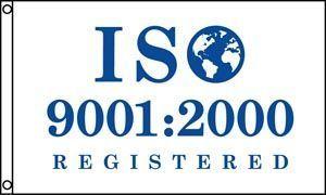 ISO 9001:2000 Flag