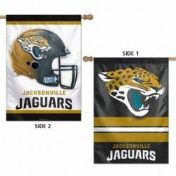 Jacksonville Jaguars Two-Sided Vertical Flag