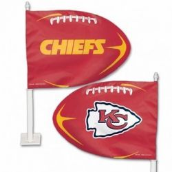 Kansas City Chiefs - Car Flag