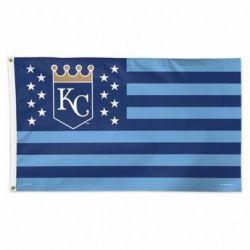 Kansas City Royals Stars and Stripes Flag