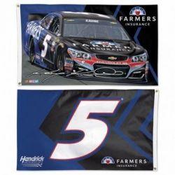 Kasey Kahne Two-Sided NASCAR Flag
