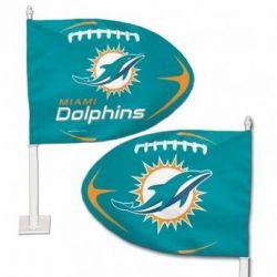 Miami Dolphins - Car Flag