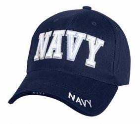 Low Profile Deluxe Navy Cap