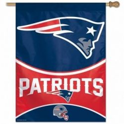 New England Patriots Vertical Flag