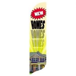New Homes Blade Flag