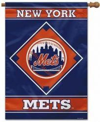 New York Mets House Banner - 28 in X 40 in