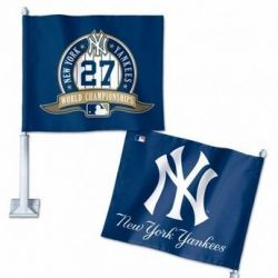NY Yankees - Car Flag