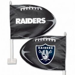 Oakland Raiders - Car Flag