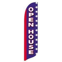 Open House Blade Flag