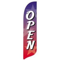 Open Stars Blade Flag