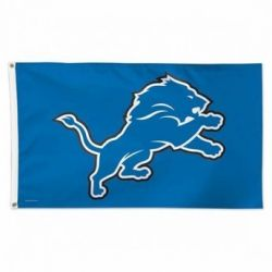 Premium Detroit Lions Flag - 3 ft X 5 ft