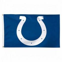 Premium Indianapolis Colts Flag - 3 ft X 5 ft