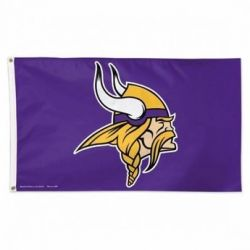 Premium Minnesota Vikings Flag - 3 ft X 5 ft