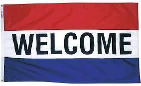 Premium Nylon Welcome Flag