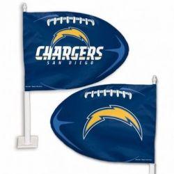 San Diego Chargers - Car Flag