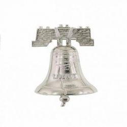 Silver Tone Liberty Bell Pin