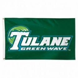 Tulane University Flag - 3 ft X 5 ft