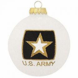U.S. Army Emblem Christmas Ornament
