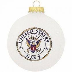U.S. Navy Emblem Christmas Ornament
