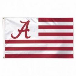 University of Alabama Stars and Stripes Flag