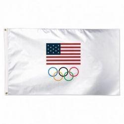 US Olympics Rings US Flag