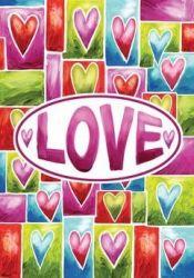 Valentine Love Garden Banner