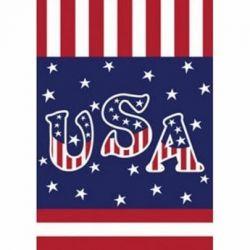 Veteran Salute Garden Flag
