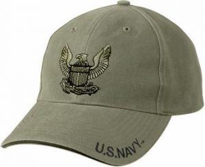 Vintage U.S. Navy Eagle Low Profile Cap
