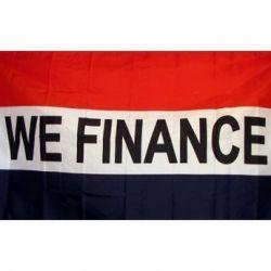 Lightweight Poly We Finance Flag