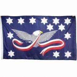 Whiskey Rebellion Tax Protest Flag