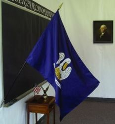 Louisiana Classroom Flag - 2 ft X 3 ft