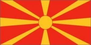 Nylon Macedonia Flag - 3 ft X 5 ft