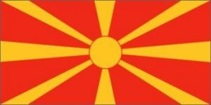 Nylon Macedonia Flag - 5 ft X 8 ft