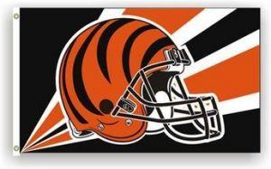 Premium Cincinnati Bengals Flag - 3 ft X 5 ft