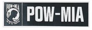 POW-MIA Bumper Sticker