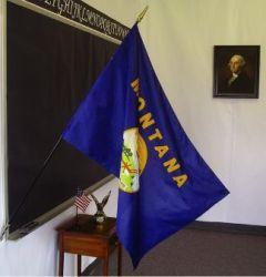 Montana Classroom Flag - 2 ft X 3 ft