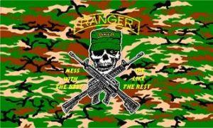 Camo Ranger Flag