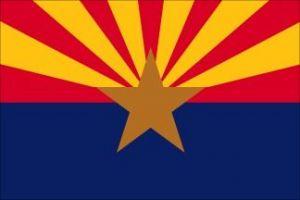 Economy Printed Arizona State Flags