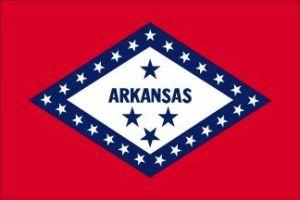Economy Printed Arkansas State Flags