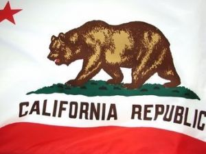 Economy Printed California State Flags