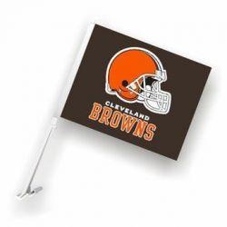 Cleveland Browns - Car Flag