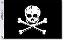 Heavy Nylon Jolly Roger Flags