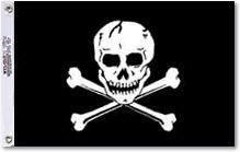 Heavy Nylon Jolly Roger Flags