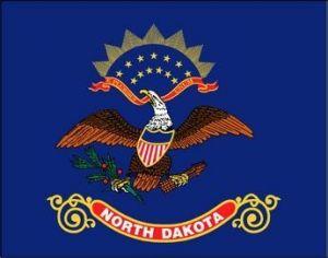Economy Printed North Dakota State Flag