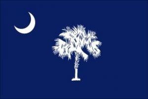Economy Printed South Carolina State Flags