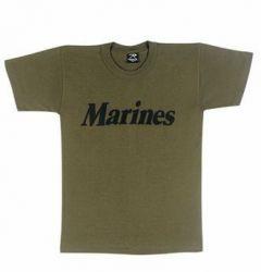 Olive Drab USMC T-Shirt